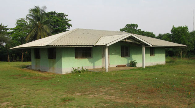 Our house in the ELWA compound Monrovia